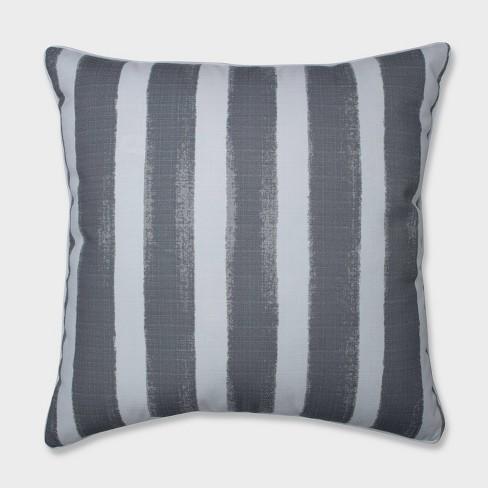 "25"" Nico Sea Salt Floor Pillow Gray - Pillow Perfect - image 1 of 1"