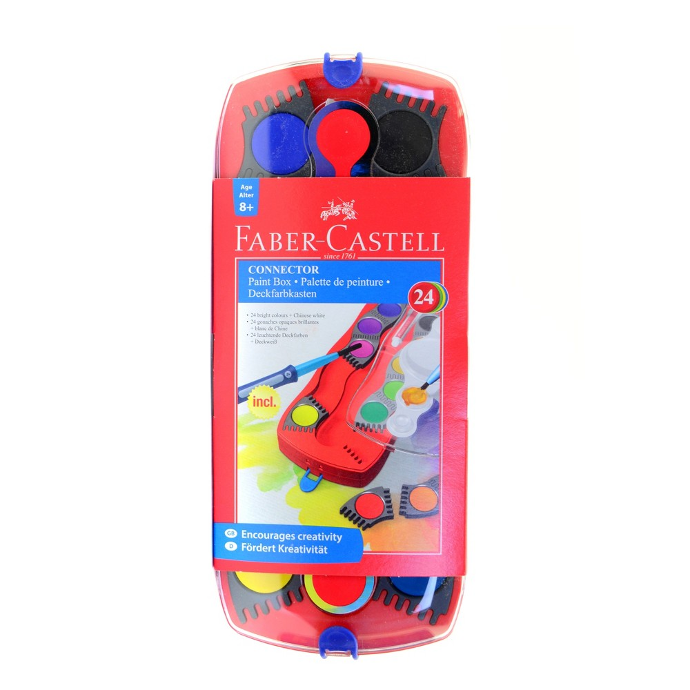Image of Connector Paint Box Set - Faber-Castell 24ct