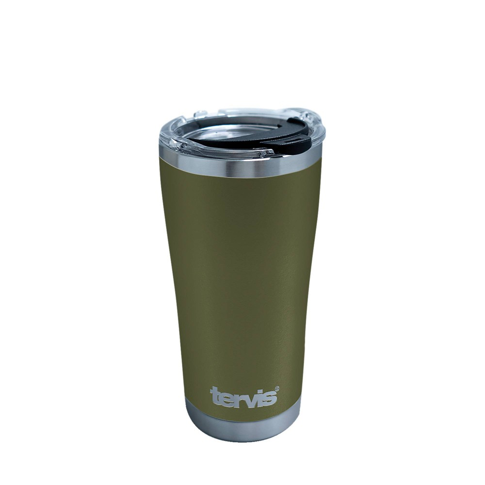 Best Tervis 20oz Powder Coated Stainless Steel Tumbler - Olive