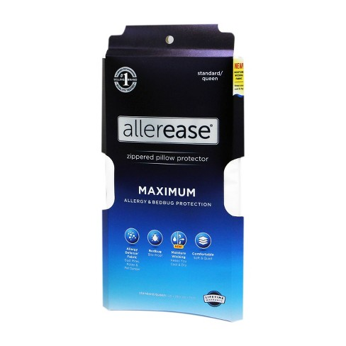 Maximum Pillow Protector - AllerEase - image 1 of 4