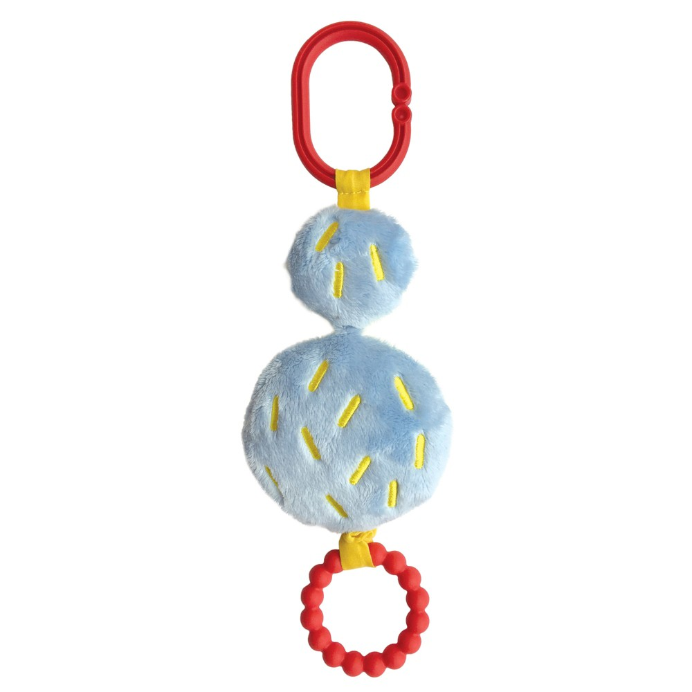 Manhattan Teething Toy | Atom Rattle & Grasping Activity Baby Toy Now $4.49 (Was $8.99)