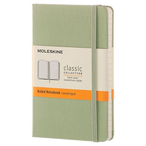 """Moleskine College Ruled Hard Cover Composition Notebook 3.5""""x 5.5""""- Green - image 1 of 4"""