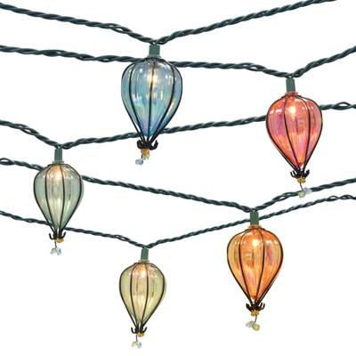10ct String Lights - Iridescent Tear Drop - Threshold™