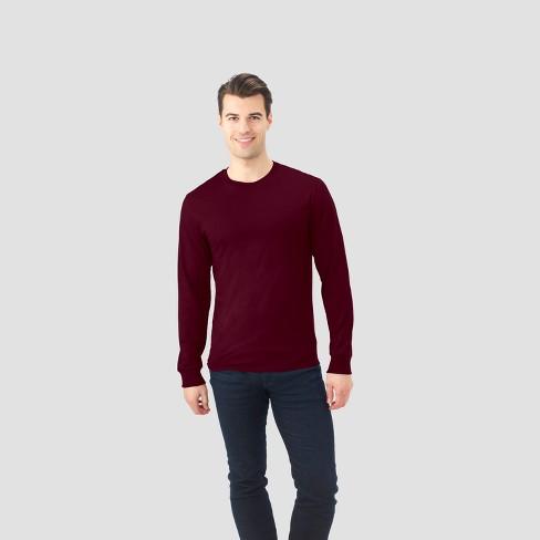 306855266 Fruit Of The Loom® Men's Long Sleeve Activewear T-Shirt : Target