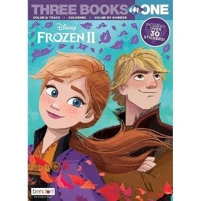 Frozen 2:  3 in 1 Activity Book