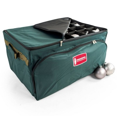 TreeKeeper 3 Tray Ornament Keeper Storage Bag with Front Pocket