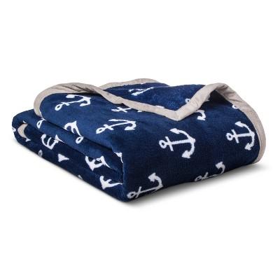 Twin Anchors Plush Blanket - Pillowfort™