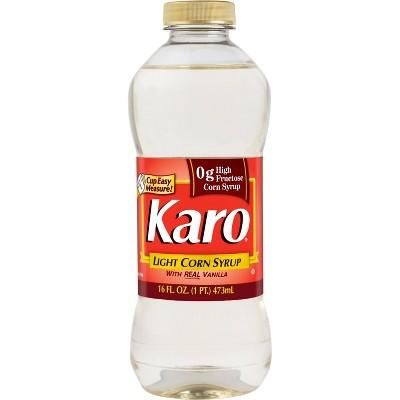 Karo Light Corn Syrup with Real Vanilla - 16oz