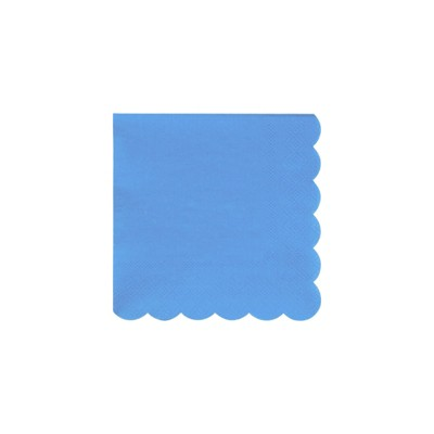 Meri Meri Bright Blue Small Napkins