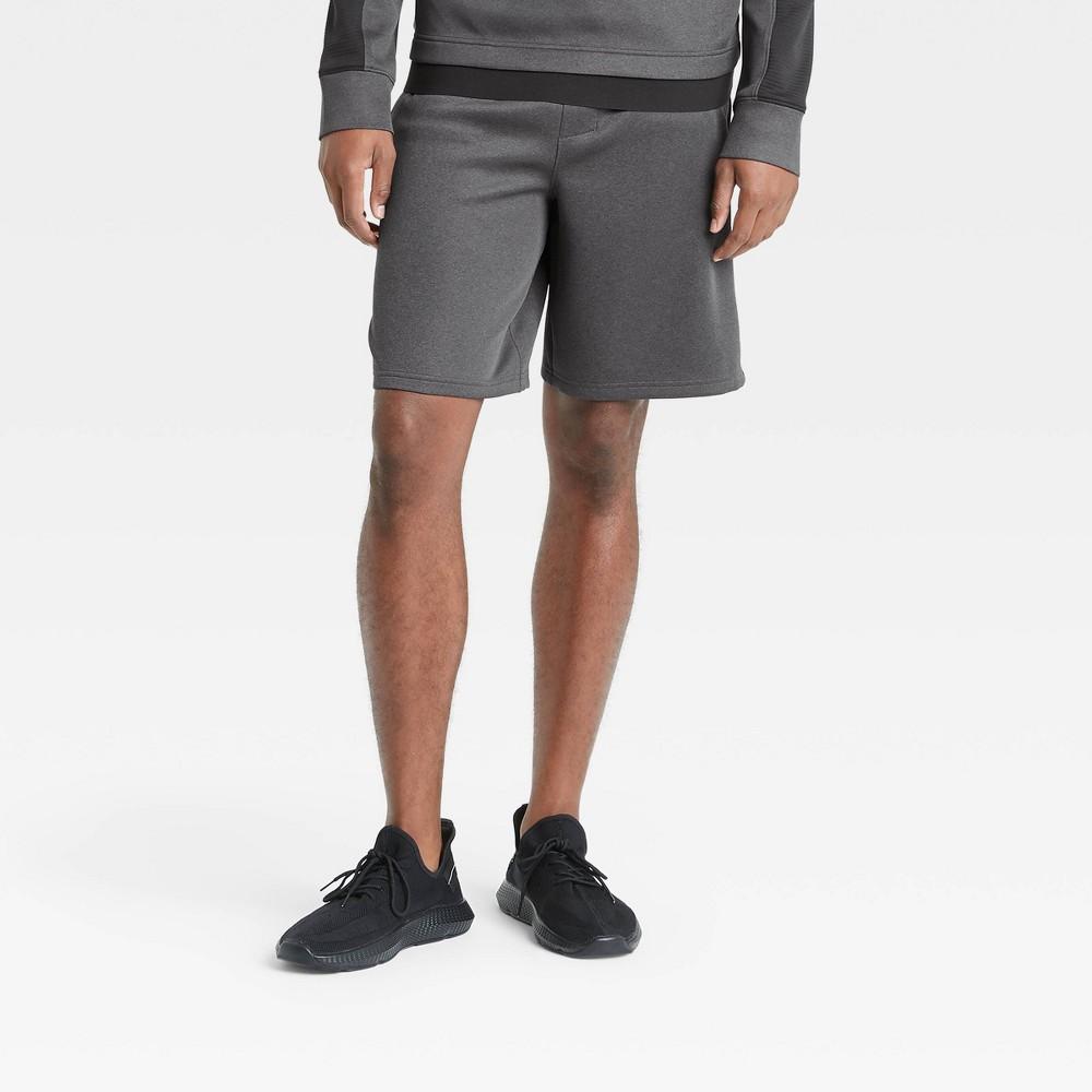 Men 39 S 9 34 Tech Fleece Shorts All In Motion 8482 Gray L