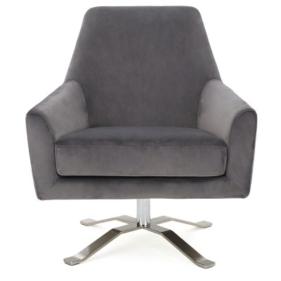 Ailis Modern Swivel Club Chair - Christopher Knight Home