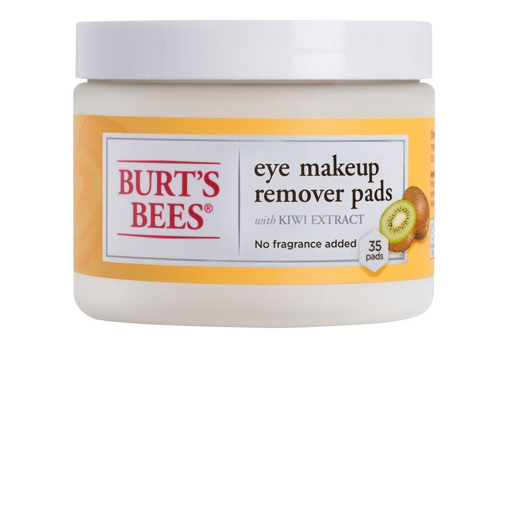 Burt's Bees Eye Make Up Remover Pads - 35ct