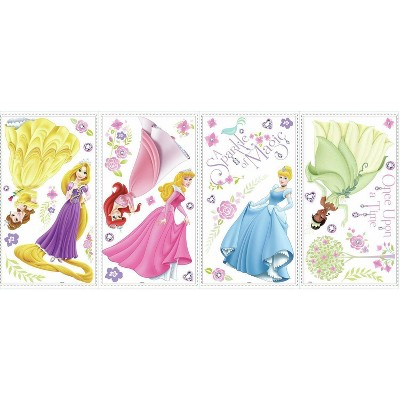 Disney Princess Glow Princess Peel and Stick Wall Decal
