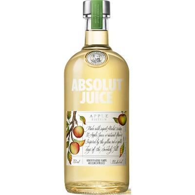 Absolut Juice Apple Edition Vodka - 750ml Bottle