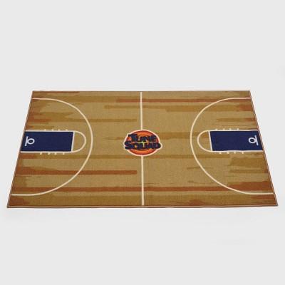 5'x4' Space Jam Basketball Rug