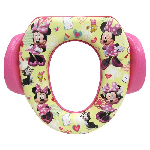 Disney Ginsey Home Solutions Potty with Hook - Minnie Mouse, Pink