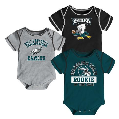 5b14edd91 Philadelphia Eagles Boys  Newest Fan 3pk Bodysuit...   Target