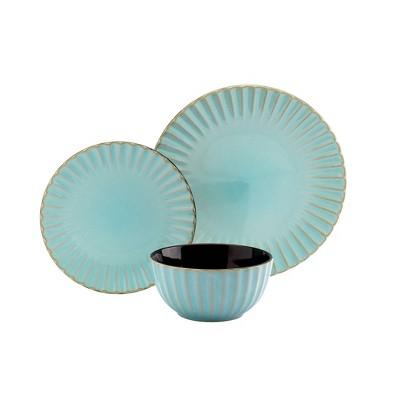 12pc Juliette Caribbean Dinnerware Set - Tabletops Gallery
