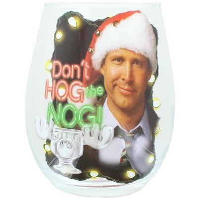 National Lampoon Christmas Vacation 20 Ounce Stemless Wine Glass