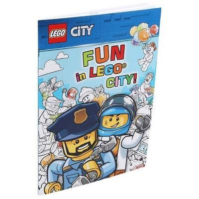 Lego(r): Fun in Lego(r) City! - (Coloring Books) (Paperback)