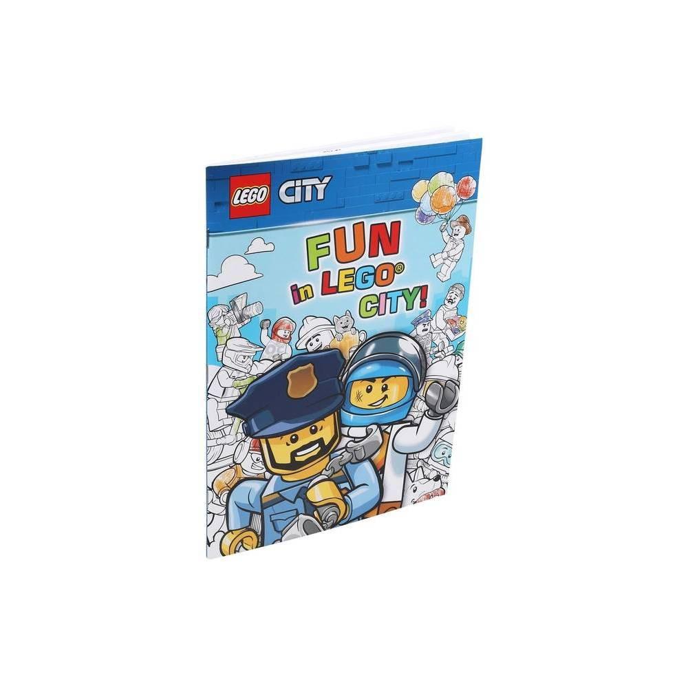 Lego R Fun In Lego R City Coloring Books Paperback