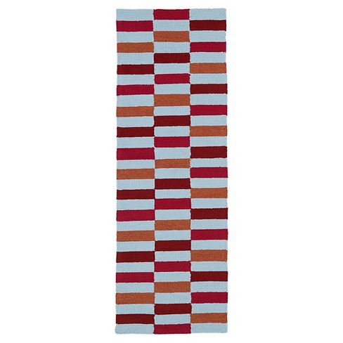 Rugs 2'X6' Kaleen Rugs Cranberry - image 1 of 1