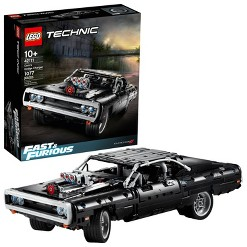 LEGO Technic Fast & Furious Dom's Dodge Charger 42111 Race Car Building Set 1077pc