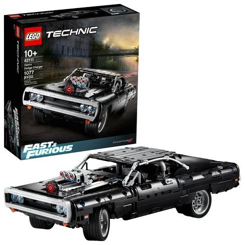 Lego Technic Fast Furious Dom S Dodge Charger Race Car Building Set 42111 Target