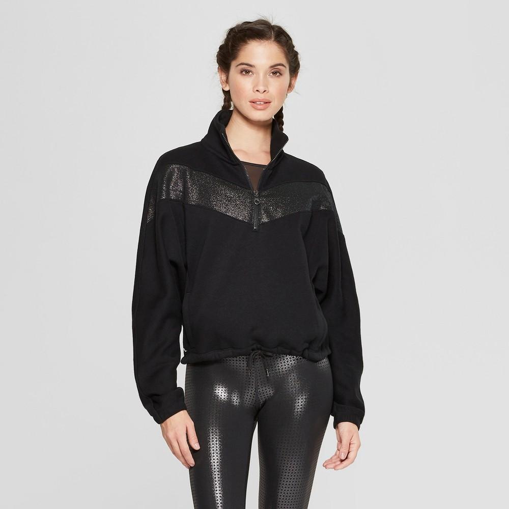Women's Pullover Sweatshirt - JoyLab Black XL