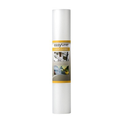 "Duck Clear Classic EasyLiner Non-Adhesive Shelf Liner, 20"" x 24' Clear"
