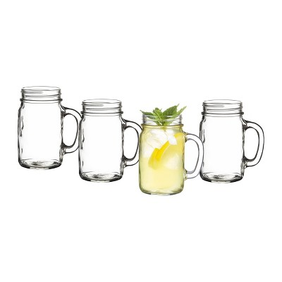 16oz 4pk Old Fashioned Drinking Jars - Cathy's Concepts