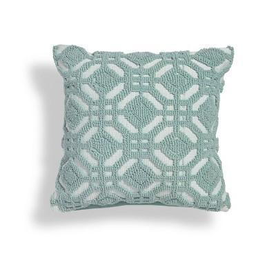 "18""x18"" Dahlia Geometric Square Throw Pillow - Sure Fit"