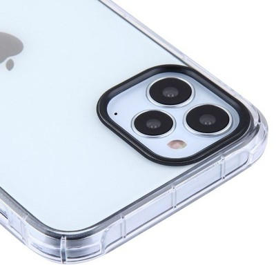 Asmyna Corner Guard TPU Rubber Candy Skin Case Cover Compatible With Apple iPhone 12 Series - Transparent Clear