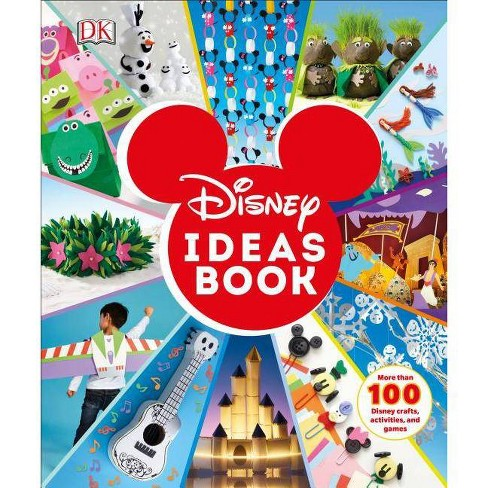 Disney Ideas Book - by  Elizabeth Dowsett (Hardcover) - image 1 of 1