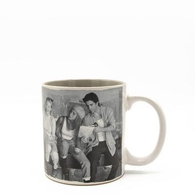 Friends 20oz Ceramic Lunch Mug - Silver Buffalo