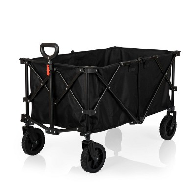 Picnic Time Adventure Wagon XL - Folding Wagon - Black