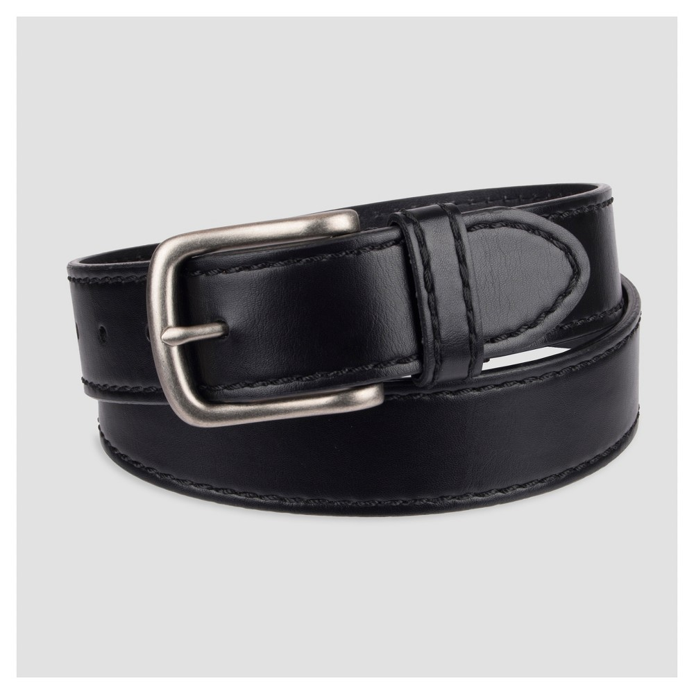 Image of Denizen From Levi's Men's 38mm Harness Belt With Decorative Hand Lacing - Black L, Size: Small