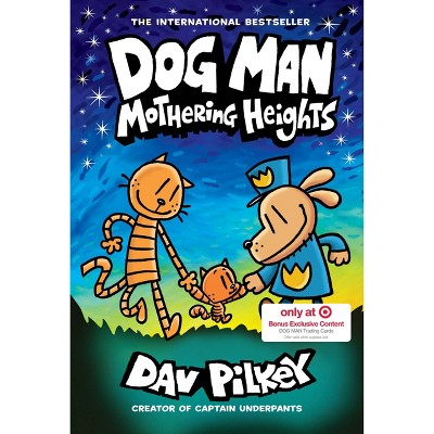 Dog Man #10: Mothering Heights - Target Exclusive Edition by Dav Pilkey (Paperback)
