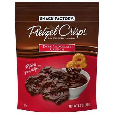 Pretzels: Snack Factory Pretzel Crisps Covered