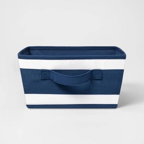 Canvas Stripe Bin - Pillowfort™ - image 1 of 4