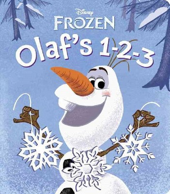 Olaf's 1-2-3 (Disney Frozen) (Illustrator) (Board Book) by Olga Mosqueda RH Disney