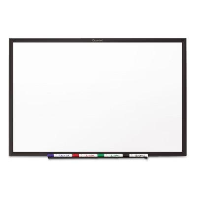Quartet Classic Melamine Dry Erase Board 48 x 36 White Surface Black Frame S534B