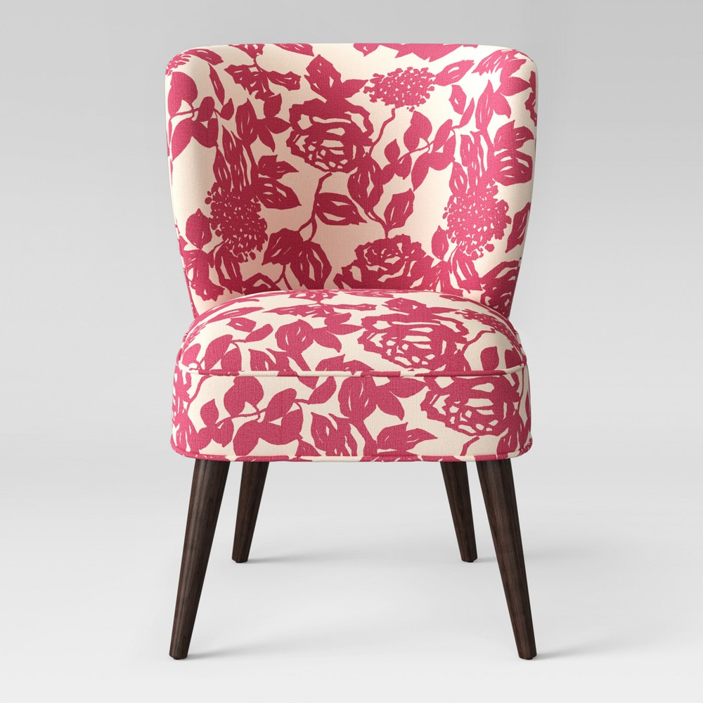 Pessac Curved Back Slipper Chair Raspberry Rose - Project 62