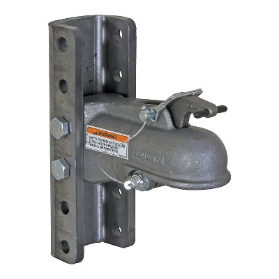 Buyers Products 91555 2-5/16 Inch Adjustable Cast Coupler with 5 Position Channel, 15, 000 Pound Capacity, and Fasteners for Ball Hitch Towing