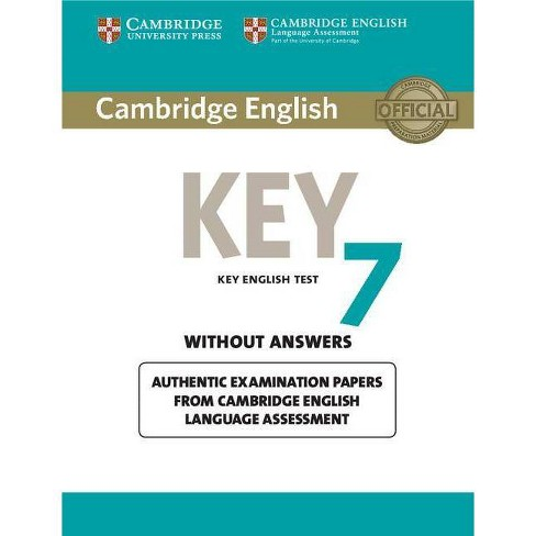 Cambridge English Key 7 Student's Book Without Answers - (Ket Practice  Tests) (Paperback)
