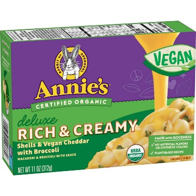 Annies Vegan Deluxe Cheddar and Broccoli - 11oz
