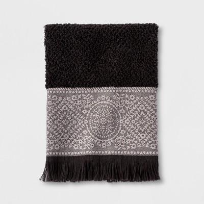 Hand Towels Matelasse Hot Coffee - Threshold™