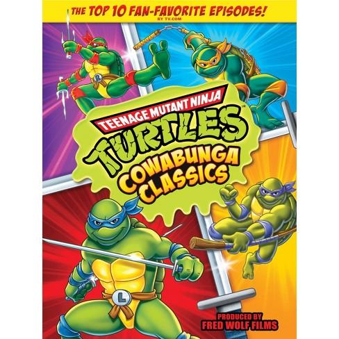 Teenage Mutant Ninja Turtles: Cowabunga Classics (DVD) - image 1 of 1