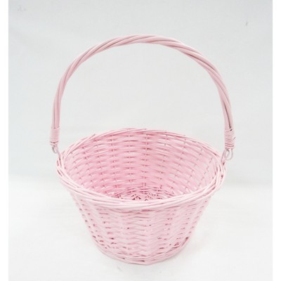 "12"" Willow Easter Basket Pink - Spritz™"
