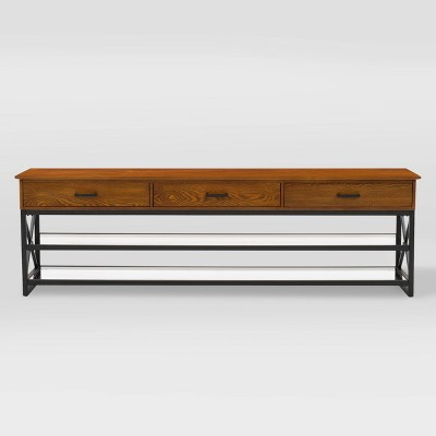 """Houston TV Bench for TVs up to 90"""" - CorLiving"""